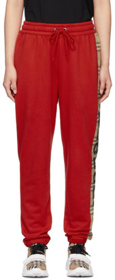 Burberry Red Raine Lounge Pants