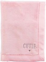 Carter's Baby 30 x 40 Embroidered Slogan Plush Blanket