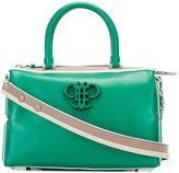 Emilio Pucci logo appliqué crossbody bag - women - Leather - One Size