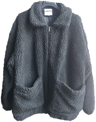 I.AM.GIA Black Cotton Coats
