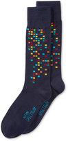 Alfani Spectrum Men's Socks, Pattern Casual Crew Socks