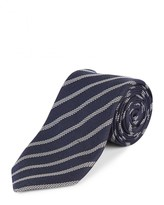 Jaeger Silk Interest Stripe Tie