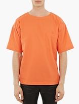 Paul Smith Orange Oversized Cotton T-Shirt