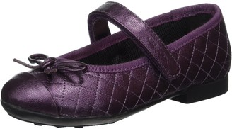 Geox Girls' JR PLIE' D Closed Toe Ballet Flats