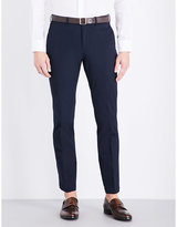 Ralph Lauren Purple Label Slim-fit Tapered Stretch-cotton Trousers