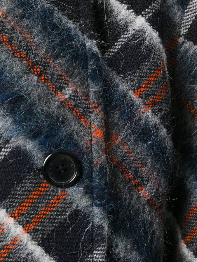 Kenzo plaid coat