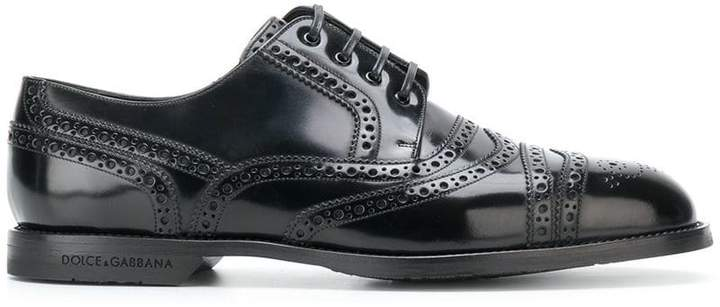 Dolce & Gabbana brogue derby shoes