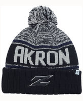 Top of the World Akron Zips Acid Rain Pom Knit Hat
