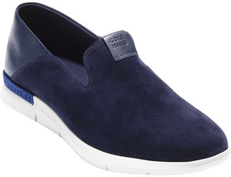 Cole Haan Grand Horizon Suede & Leather Loafer