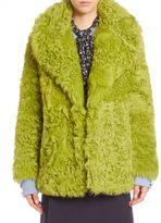 Michael Kors Open Front Long Sleeve Coat