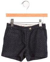 Bonpoint Girls' Textured Wool & Linen-Blend Shorts