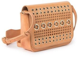 Etienne Aigner Chrissie Leather Crossbody Bag
