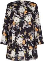 Yumi Oriental Blossom Printed Tunic