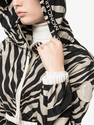 Moncler Zebra Print Track Jacket