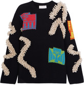 Peter Pilotto Chunky-knit Sweater - Navy