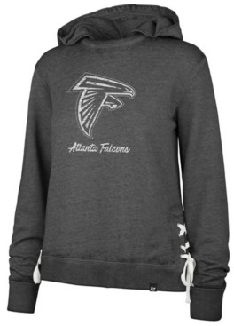 '47 Women's Atlanta Falcons Lace Up Hoodie