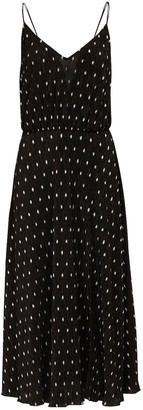 Rotate by Birger Christensen Ofelia Polka Dots Midi Dress