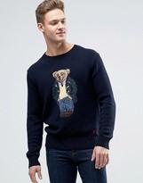 Polo Ralph Lauren Crew Jumper Bear Knit