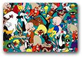"Hzlrose Warner Brothers Looney Tunes Cartoon Characters Custom Durable Doormat 23.6"" x 15.7"""
