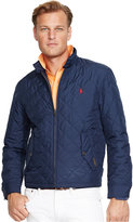 Polo Ralph Lauren Men's Big and Tall Quilted Barracuda Jacket