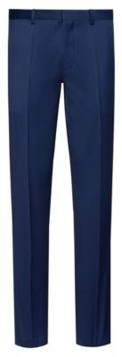 HUGO Extra-slim-fit trousers in pigment-dyed wool