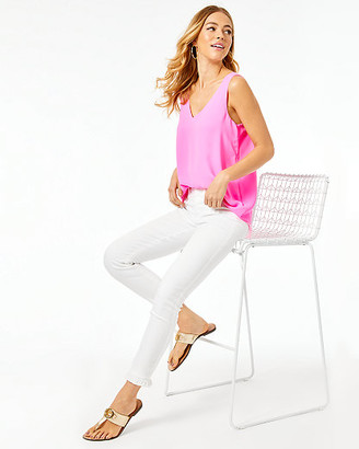 """Lilly Pulitzer 27"""" South Ocean High Rise Crop Skinny Pant"""