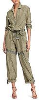 Polo Ralph Lauren Silk-Cotton Jumpsuit