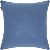 Gant Allstar Knit Cushion - 50x50cm - Mid Blue