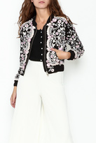 Needle & Thread Prairie Embroidered Bomber