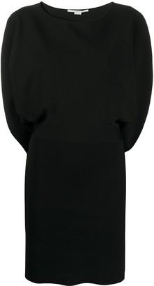 Stella McCartney Split-Sleeve Fitted Dress