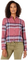Pendleton Primary Flannel Shirt (Dry Rose Multi Plaid) Women's Clothing