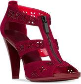 MICHAEL Michael Kors Berkley Floral T-Strap Sandal