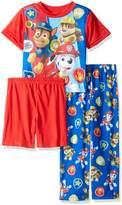 Nickelodeon Boys' Little Boys' Paw Patrol 3-Piece Pajama Set