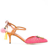 Dolce & Gabbana Bellucci pumps - women - Cotton/Viscose/Calf Leather/Leather - 36.5