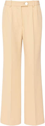 Victoria Beckham Cropped Wool Trousers
