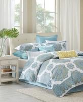 Echo Indira Aqua California King Comforter Set