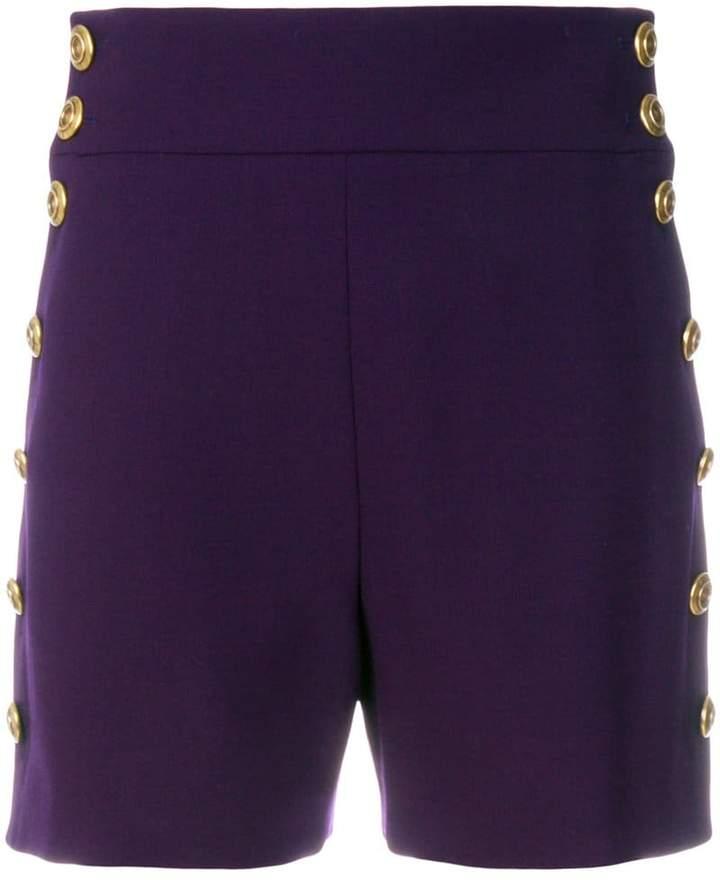 Chloé high-waisted buttoned shorts