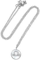 Carolina Bucci Libra Lucky 18-karat White Gold Multi-stone Necklace - one size