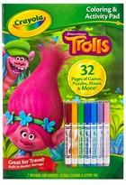 Crayola Coloring & Activity Pad - Trolls