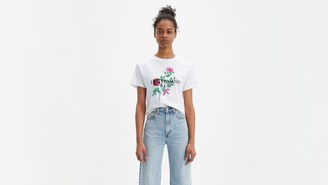 Levi's Floral Graphic Varsity Tee