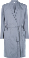 EXPRESSION Robe in stretch cotton canvas