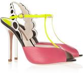 Sophia Webster Dana leather peep-toe sandals