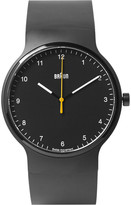 Braun - Bn0221 Rubber And Stainless Steel Watch