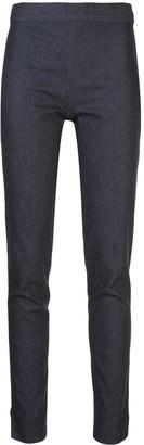 Prabal Gurung Cropped Slim Leg Denim Jeans