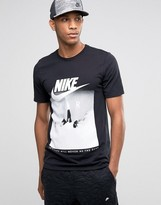 Nike Air T-shirt With Rocket Print In Black 806385-010