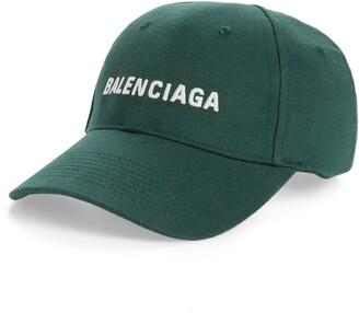 Balenciaga Embroidered Baseball Cap