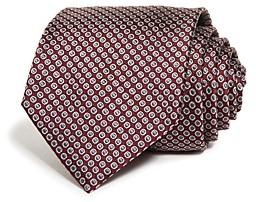 Giorgio Armani Outlined Circle Silk Classic Tie