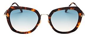 Tom Ford Women's Round Sunglasses, 54mm