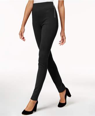 INC International Concepts Inc Petite Zip-Detail Skinny Pants