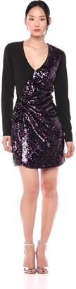Parker Women's Becca Sequin Combo Cocktail Dress